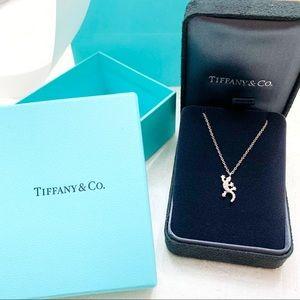 Tiffany & Co. 18k Diamond Lizard Pendant